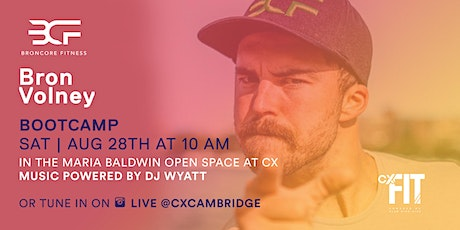 CX Fit - Broncore Fitness with Sam Aho tickets