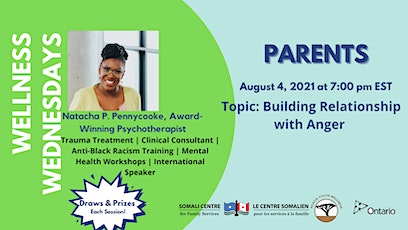 Building Relationship with Anger - Parents tickets