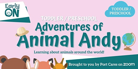 Adventures of Animal Andy: Monkeys tickets