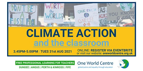 Climate Action and the classroom tickets