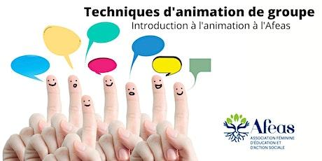 Techniques d'animation de groupe - Introduction à l'animation à l'Afeas billets
