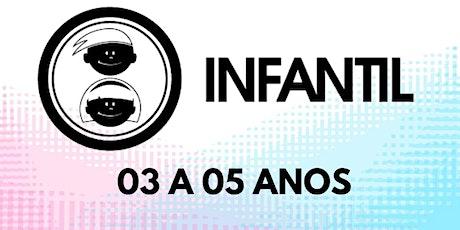 Culto Infantil Bola De Neve Pinda- sala de 3 a 5 anos  01/08 ingressos