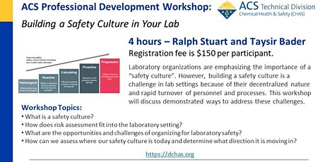 Building a Safety Culture in Your Lab tickets