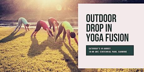 Outdoor Drop In Yoga Fusion tickets