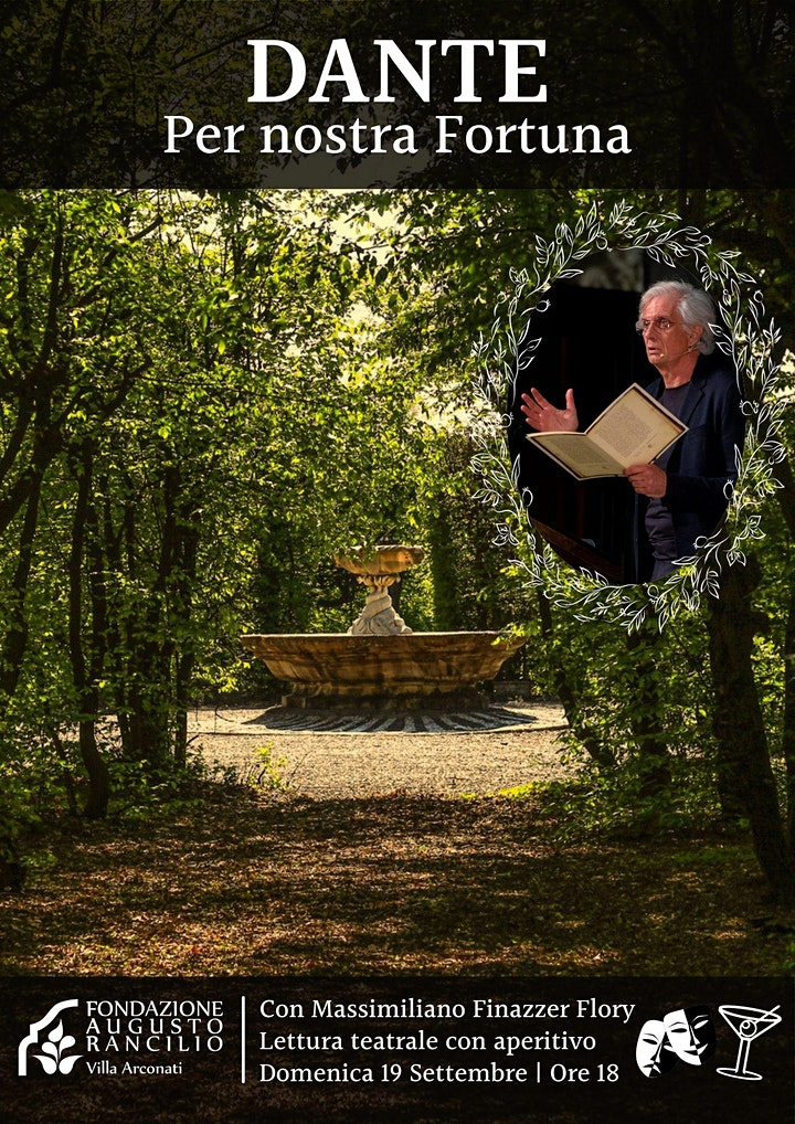 Immagine Dante, per nostra Fortuna - lettura teatrale con a