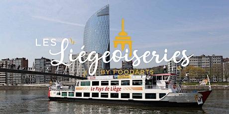 Les Liégeoiseries sur Meuse billets