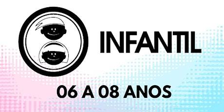 Culto Infantil Bola De Neve Pinda- sala de 6 a 8 dia 01/08 ingressos