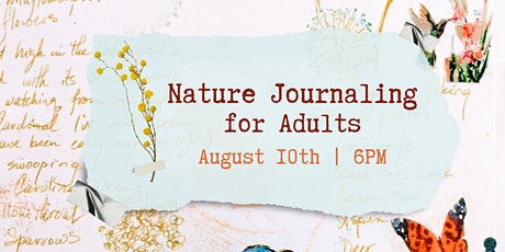 Nature Journaling for Adults tickets