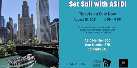 ASID Illinois Membership Appreciation Boat Cruise tickets