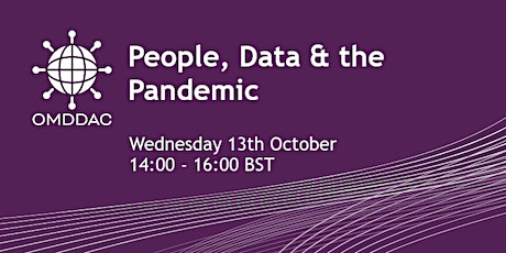 People, Data & the Pandemic tickets