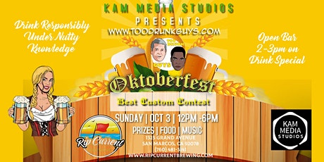 Too Drunk Guys OctoberFest tickets
