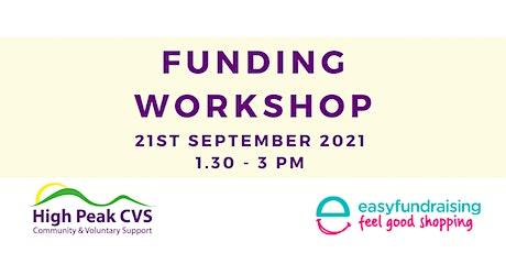 High Peak CVS Funding Workshop - easyfundraising tickets