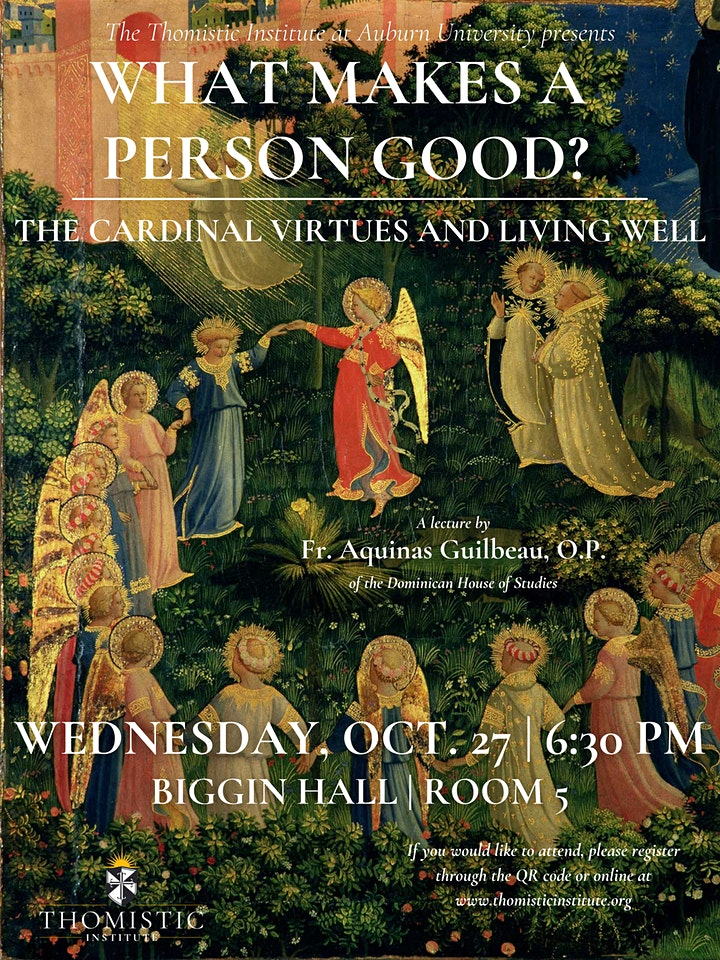 What Makes a Person Good: The Cardinal Virtues and Living Well image