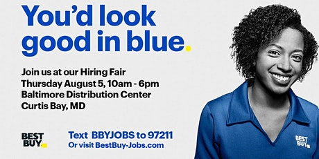 Best Buy Distribution Center National Hiring Event tickets