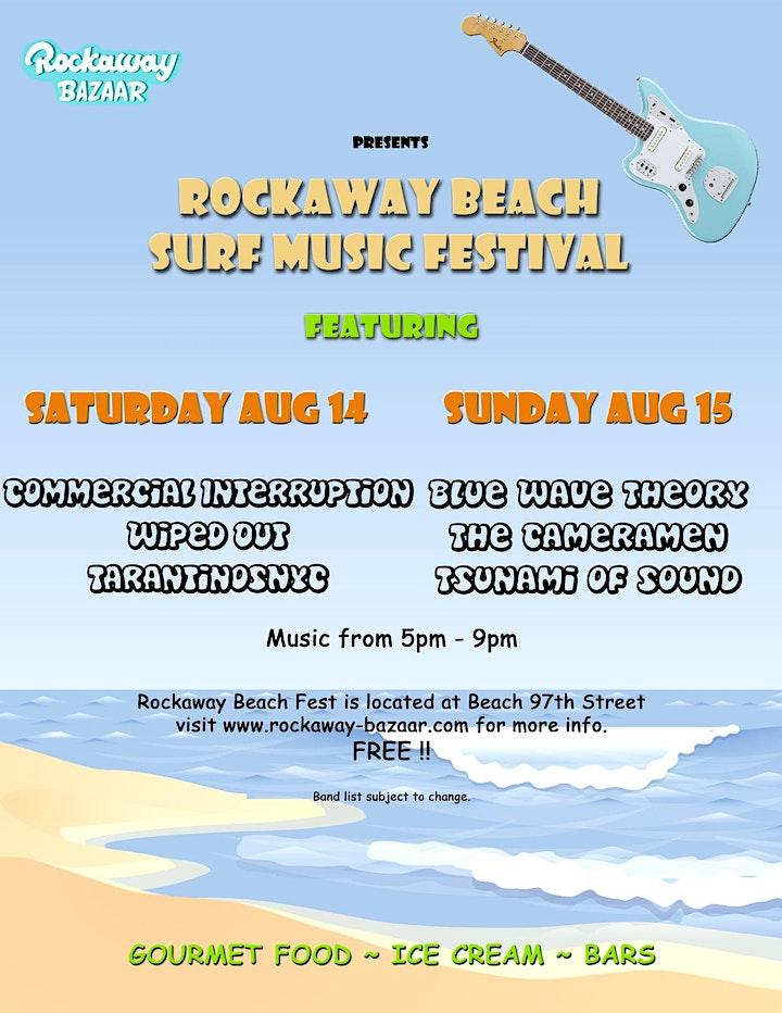 Rockaway Beach Surf Music Festival image