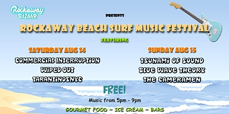 Rockaway Beach Surf Music Festival tickets