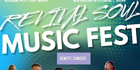 Revival Soul Music fest AYA House Benefit Concert tickets