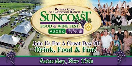 Suncoast Food & Wine Fest 2021 tickets