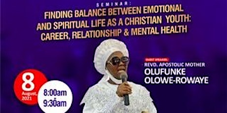 Finding Balance Between Emotional And Spiritual Life As Christian Youths. tickets