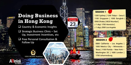 Doing Business in Hong Kong (Session 1) tickets