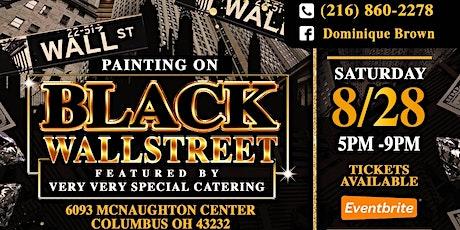 Painting On Black Wallstreet tickets