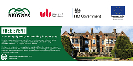 How to apply for grant funding in your area - business support event tickets