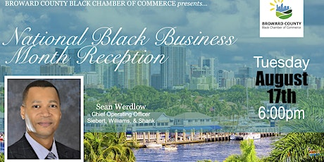 National Black Business Month Reception tickets