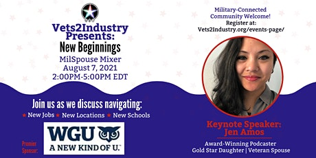 4th VETS2INDUSTRY MilSpouse Networking Mixer tickets