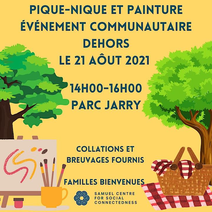 Picnic & Paint: Outdoor Community Event image