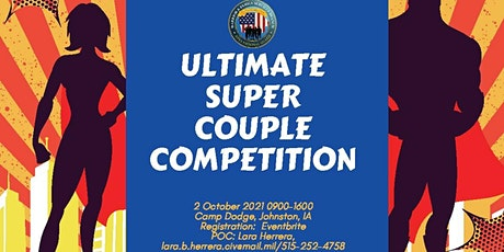 ULTIMATE SUPER COUPLE COMPETITION tickets