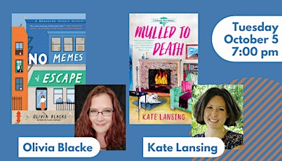 Book launch with Olivia Blacke and Kate Lansing tickets
