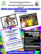 3rd Annual Mental Health Awareness & Empowerment Youth Summit tickets