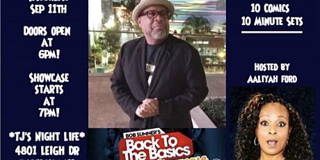 Back To The Basics Comedy Showcase 2 tickets