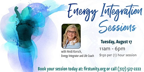 Energy Integration Sessions  with Heidi Korsch at the Healing Arts Center tickets