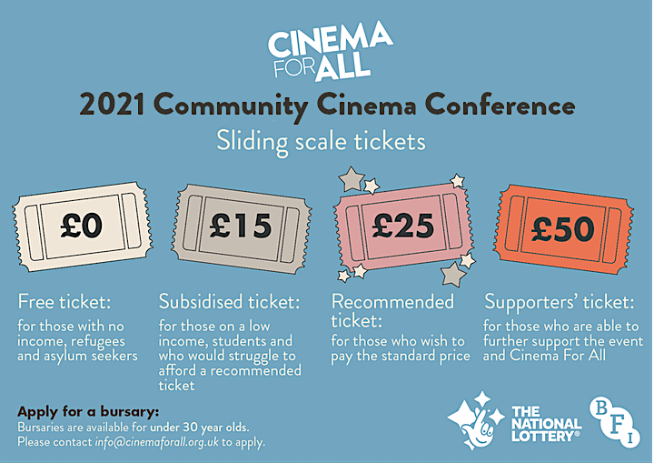 2021 Community Cinema Conference and Film Society of the Year Awards image