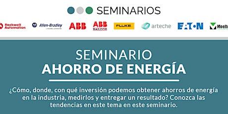 Seminario Hermos | Ahorro de Energía biglietti