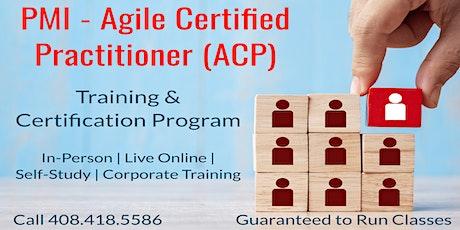 10/26  PMI-ACP Certification Training in San Jose tickets