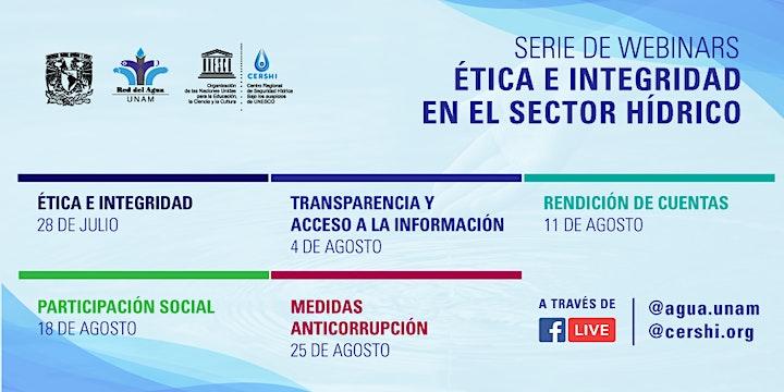 Imagen de Webinar - Transparencia y Acceso a la Información en el Sector Hídrico