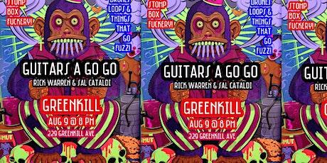 Guitars A Go Go, August 9, 8 PM, Live/Livestream Tickets
