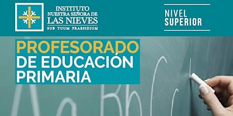 Charla Informativa | Carrera > Profesorado de Educación Primaria entradas