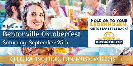 Oktoberfest in Bentonville - 2021 tickets