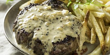 Dinner Club: Steak Dinner (in-person) tickets
