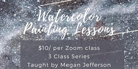 Watercolor Painting Lessons with Megan: Plants in Containers tickets