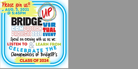BridgeUP's 2021 Virtual Compassion Projects Event tickets