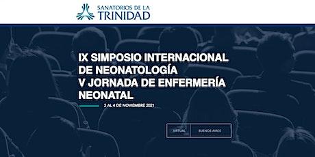 IX SIMPOSIO INTERNACIONAL DE NEONATOLOGIA - Para grupos entradas