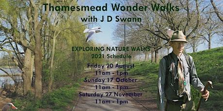 Thamesmead Wonder Walk No. 3 with J D Swann tickets