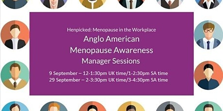 Let's Talk About Menopause - Line Manager Session tickets