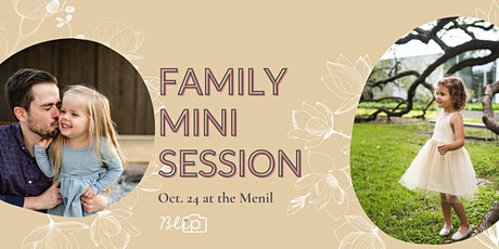 Family Mini Sessions at The Menil Collection (outdoors only) tickets