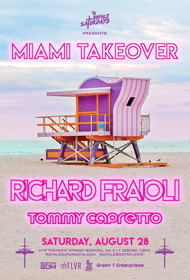 Miami Takeover   Royale Saturdays   8.28.21   10:00 PM   21+ image