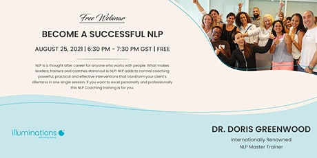 Free Webinar: Become A Successful NLP Coach With Dr. Doris Greenwood tickets